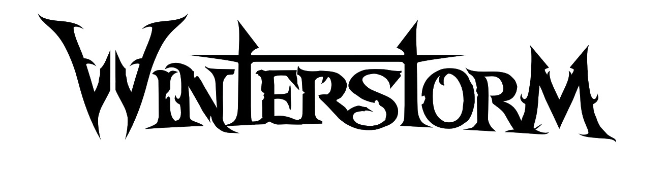 Winterstorm logo black